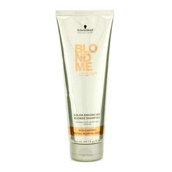 SchwarzkopfBlondme Color Enhancing Blonde Shampoo - Rich Caramel (Revives Warm Blondes) 250ml/8.45oz