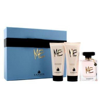LanvinMe Coffret: Eau De Parfum Spray 80ml/2.6oz + Loci�n Corporal 100ml/3.3oz + Gel de Ducha 100ml/3.3oz 3pcs