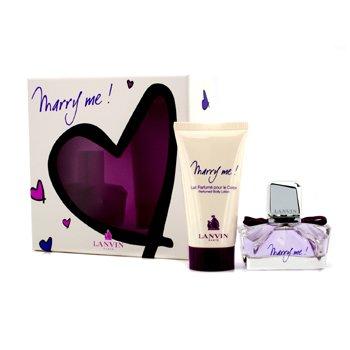 LanvinMarry Me Coffret: Eau De Parfum Spray 30ml/1oz + Body Lotion 50ml/1.7oz 2pcs