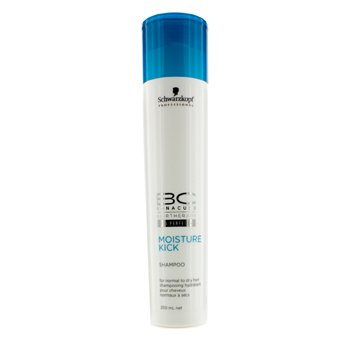 SchwarzkopfBC Moisture Kick Shampoo - For Normal to Dry Hair (New Packaging) 250ml/8.4oz