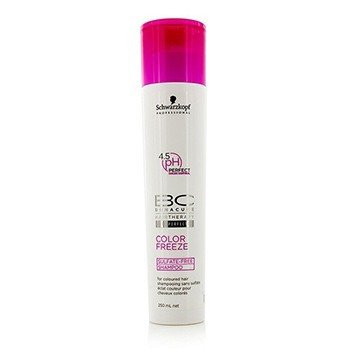 SchwarzkopfBC Color Freeze Sulfate-Free Shampoo - For Coloured Hair (New Packaging) 250ml/8.4oz