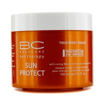 SchwarzkopfBC Sun Protect Treatment Cream (For Sun -Stressed Hair) 150ml/5.1oz
