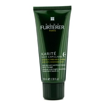 Rene FurtererKarite Intense Overnight Nourishing Treatment Leave-in (For Very Dry, Damaged Hair) 100ml/3.38oz