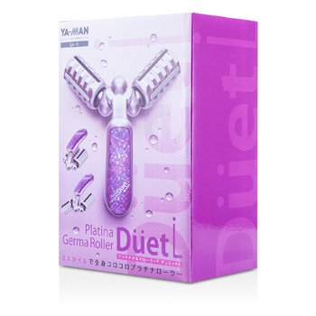 YA-MANPlatina Germa Roller - Duet (# Purple) 3pcs