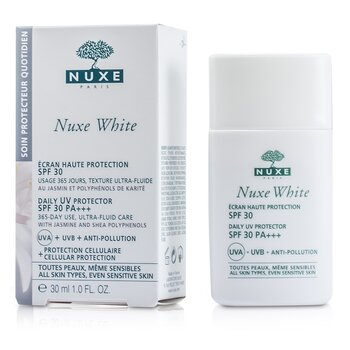 Nuxe Nuxe White Daily UV Protector SPF 30 (For All Skin Types & Sensitive Skin) 30ml/1oz