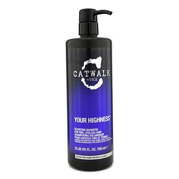 TigiCatwalk Your Highness Elevating Shampoo - For Fine, Lifeless Hair (New Packaging) 750ml/25.36oz
