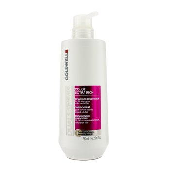 GoldwellDual Senses Color Extra Rich Detangling Conditioner (For Thick to Coarse Color-Treated Hair) 750ml/25.4oz