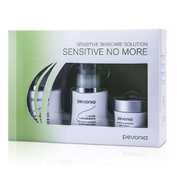 Pevonia BotanicaSensitive Skincare Solution Sensitive No More: Cleanser 50ml/1.7oz+Lotion 50ml/1.7oz+Cream 20ml/0.7oz 3pcs