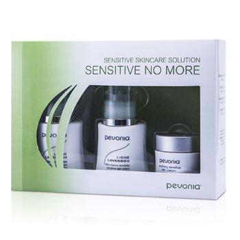 Pevonia BotanicaSensitive Skincare Solution Sensitive No More: Limpiador 50ml/1.7oz + Loci�n 50ml/1.7oz + Crema 20ml/0.7oz 3pcs