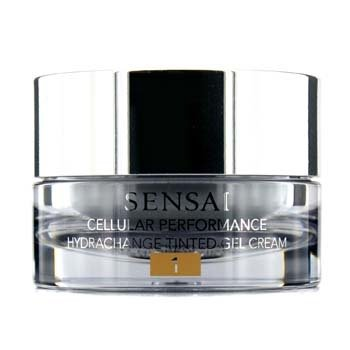 KaneboSensai Cellular Performance Hydrachange Gel Crema Con Tinte SPF 10 - # 1 Nude Beige 40ml/1.4oz