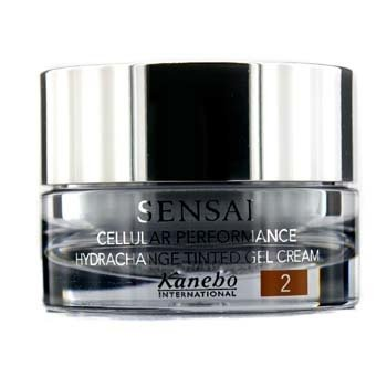 KaneboSensai Cellular Performance Hydrachange Gel Crema Con Tinte SPF 10 - # 2 Golden Sand 40ml/1.4oz