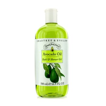 Crabtree & EvelynAvocado Oil Bath & Shower Gel 500ml/16.9oz