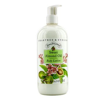 Crabtree & EvelynSweet Almond Oil Body Lotion 500ml/16.9oz