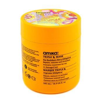 Amika Triple RX Mask (For Dry, Damaged Hair)  500ml/16.9oz