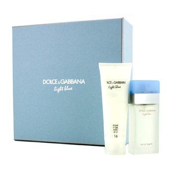 Dolce & GabbanaLight Blue Coffret: Eau De Toilette Spray 25ml/0.84oz + Body Cream 50ml/1.6oz 2pcs
