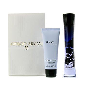 Giorgio ArmaniCode Femme Coffret: Eau De Parfum Spray 75ml/2.5oz + Body Lotion 75ml/2.5oz 2pcs