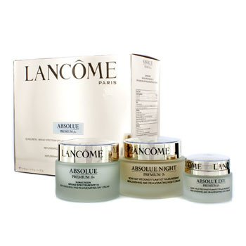 LancomeAbsolue Premium Bx Set: Night Cream 75g + Day Cream 50g + Eye Cream 20g 3pcs