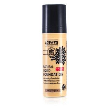 Lavera Natural Liquid Foundation (10H Long Lasting) - # 04 Honey Beige 30ml/1oz