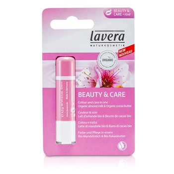 LaveraB�lsamo de Labios - Beauty & Care Rose 4.5g/0.15oz