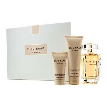 Elie SaabLe Parfum Coffret: Eau De Toilette Spray 90ml/3oz + Scented Body Lotion 75ml/2.5oz + Shower Cream 30ml/1oz 3pcs
