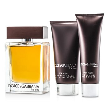Dolce & GabbanaThe One Coffret: Eau De Toilette Spray 100ml/3.3oz + After Shave Balm 75ml/2.5oz + Shower Gel 50ml/1.6oz 3pcs
