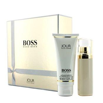 Hugo BossBoss Jour Coffret: Eau De Parfum Spray 50ml/1.6oz + Body Lotion 100ml/3.3oz 2pcs