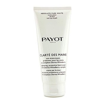 PayotAbsolute Pure White Clarte Des Mains Lightening Protective Hand Cream (Salon Size) 200ml/6.7oz