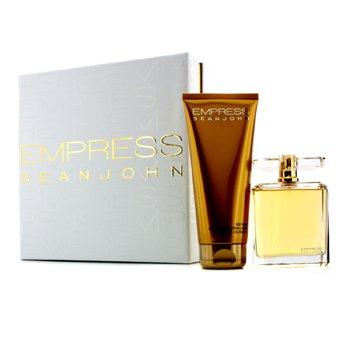 Sean John Empress Coffret: Eau De Parfum Spray 100ml/3.4oz + Body Cream 200ml/6.7oz  2pcs