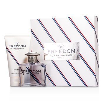 HilfigerTommy Freedom Coffret: Eau De Toilette Spray 50ml/1.75oz +Gel Jab�n Corporal 150ml/5oz 2pcs