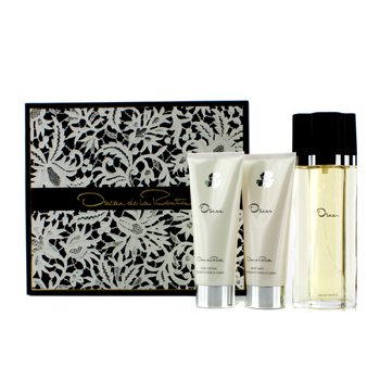 Oscar De La Renta Oscar Coffret: EDT Spray 100ml/3.4oz + Body Lotion 100ml/3.4oz + Body Bath Gel 100ml/3.4oz 3pcs