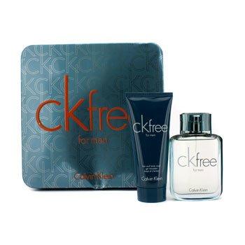 Calvin KleinCK Free Coffret: Eau De Toilette Spray 50ml/1.7oz + Hair & Body Wash 100ml/3.4oz 2pcs