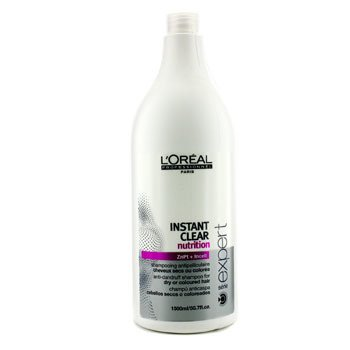 L'OrealProfessionnel Expert Serie - Instant Clear Nutritive Champ� Anti-Caspa (Para Cabello Seco o Tinturado) 1500ml/50.7oz