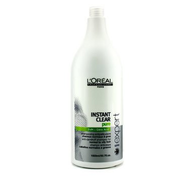 L'OrealProfessionnel Expert Serie - Instant Clear Pure Anti-Dandruff Shampoo (For Normal to Oily Hair) 1500ml/50.7oz