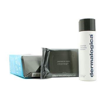 DermalogicaSoluci�n Limpiadora Esencial (Regalo Gratis: Paquete 10 Toallitas Pre Limpiadoras) - Caja Ligeramente Da�ada 250ml/8.3oz