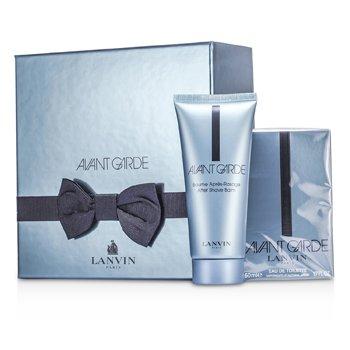 Lanvin Avant Garde Coffret: Eau De Toilette Spray 50ml/1.7oz + After Shave Balm 100ml/3.3oz 2pcs