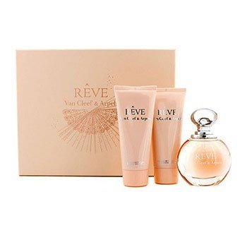 Van Cleef & Arpels Reve Coffret: Eau De Parfum Spray 100ml/3.3oz + Body Lotion 100ml/3.3oz + Shower Gel 100ml/3.3oz 3pcs