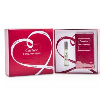 Cartier Declaration Coffret: EDT Spray 50ml/1.6oz + EDT Spray 9ml/0.3oz 2pcs