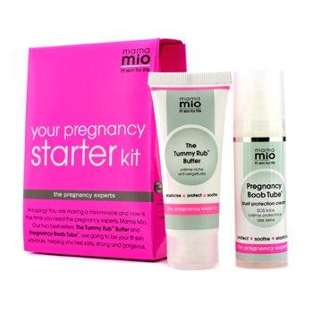 Mama Mio Your Pregnancy Starter Kit: The Tummy Rub Butter 30ml + Pregnancy Boob Tube 30ml  2pcs