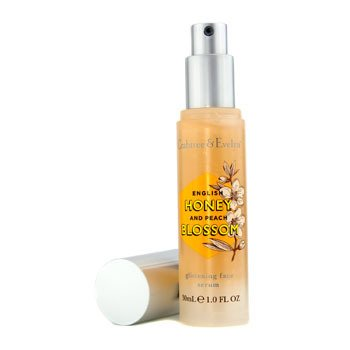 Crabtree & Evelyn English Honey & Peach Blossom Glistening Face Serum 30ml/1oz
