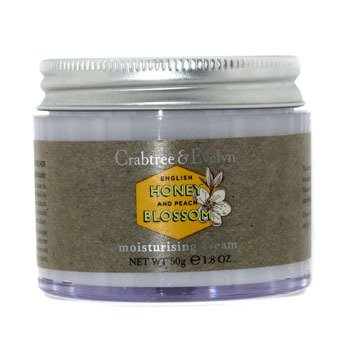 Crabtree & Evelyn English Honey & Peach Blossom Moisturising Cream  50g/1.8oz