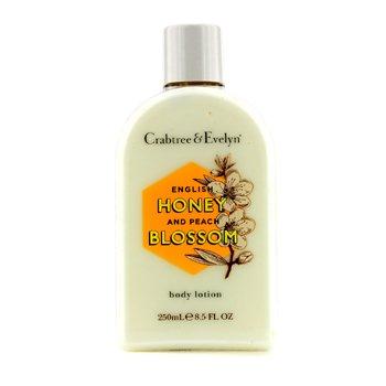 Crabtree & Evelyn English Honey & Peach Blossom Body Lotion  250ml/8.5oz
