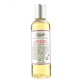 Kiehl`s Nashi Blossom & Pink Grapefruit Skin Softening Body Cleanser 250ml/8.4oz