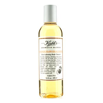 Kiehl's Orange Flower & Lychee Skin Softening Body Cleanser 250ml/8.4oz
