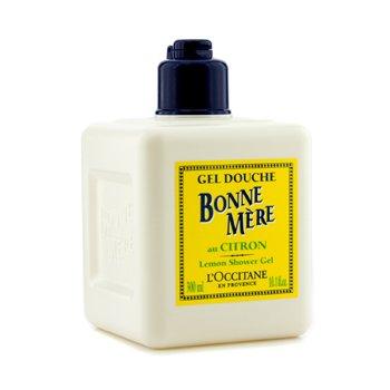 L'Occitane Bonne Mere Lemon Shower Gel - Gel Mandi  300ml/10.1oz