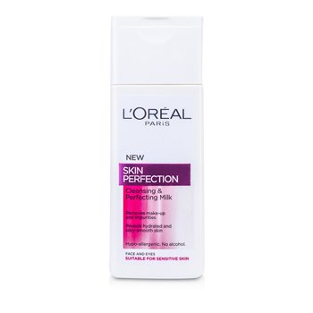 L'OrealSkin Perfection Cleansing & Perfecting Milk A7085940 200ml/6.76oz