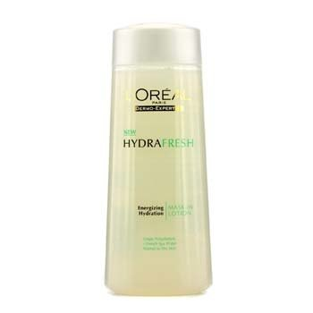 L'OrealHydrafresh Energizing Hydration Mask-In Lotion (Normal to Dry Skin) G1310640 200ml/6.76oz