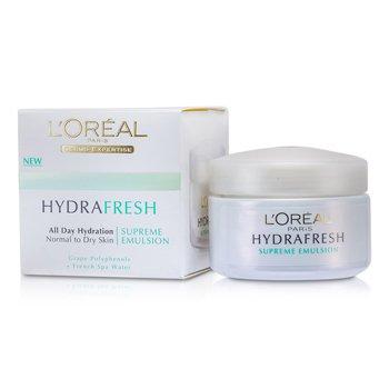 L'OrealHydrafresh All Day Hydration Supreme Emulsion 50ml/1.7oz