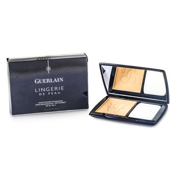 Guerlain Lingerie De Peau Nude Powder Foundation SPF 20 – # 03 Beige Naturel 10g/0.35oz