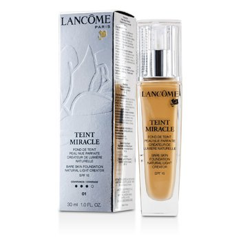 Lancome Teint Miracle Bare Skin Foundation Natural Light Creator SPF 15 - # 01 Beige Albatre  30ml/1oz