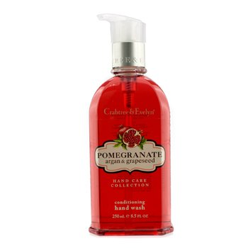 Crabtree & Evelyn Pomegranate  Argan & Grapeseed Conditioning Hand Wash 250ml/8.5oz